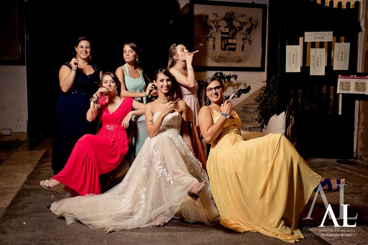 Come fare belle foto di gruppo al matrimonio
