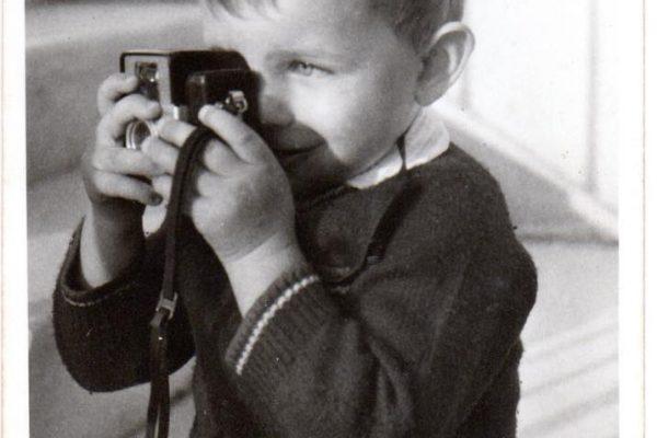 Alfonso Lorenzetto fotografo da bambino