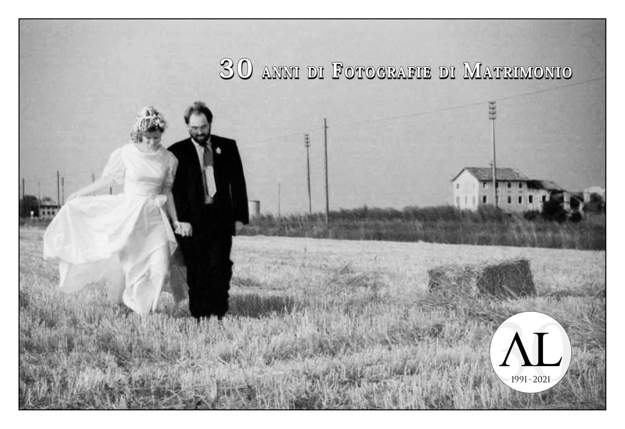 30 anni di Fotografie di Matrimonio